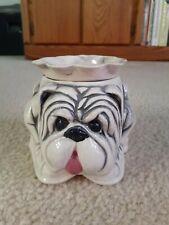 Adorable Puppy Dog African Violet 2-Piece Pot Planter