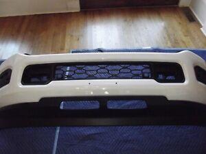 2019-2020 DODGE RAM 2500 3500 Front Bumper OEM White sensor & fog lights holes