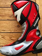 Diadora RED EAGLE FX motorcycle sports boots UK 7 BREXIT 41