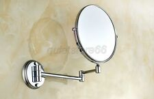 Dual Makeup mirrors 1:1 and 1:3 magnifier Cosmetic Bathroom Wall Mirror qba626