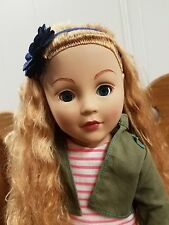 "18"" 2013 Madame Alexander Doll Strawberry Blonde Hair Blue Eyes"