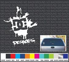 """DC Shoes rear window front car truck bike skateboard vinyl sticker decal  4.75"""""""