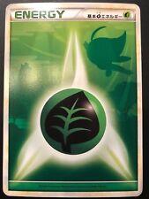 Carte Pokemon ENERGY GREEN / PLANTE 2009 CELEBI Call of Legend JAPANESE JAP NEUF