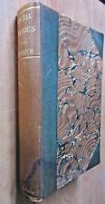 Social Statics By Herbert Spencer Rustic Leather 1892