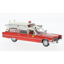 CADILLAC S&S AMBULANCE FIRE RESCUE 1:43 Neo Scale Models Ambulanze Die Cast
