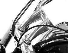 "4.5"" Chrome Billet Handlebar Risers FOR YAMAHA V-STAR XVS 250 650 950 1100 1300"