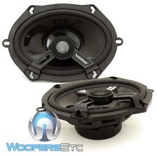 "ROCKFORD FOSGATE T1572 POWER 5""X7"" 2-WAY ALUMINUM TWEETERS COAXIAL SPEAKERS NEW"