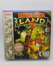 Donkey Kong Land 2 (Nintendo Game Boy, 1996) Complete In Box CIB