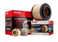 Ryco 4x4 Filter Service Kit RSK2FG fits Toyota Hilux 3.0D 4x4 (KUN26R), 3.0D ...