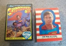 SUPERMAN III Trading Cards Complete Set with STICKERS Topps