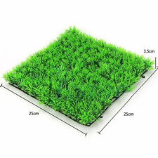 Hot Artificial Water Aquatic Green Grass Plant Lawn Aquarium Fish Tank Landscape