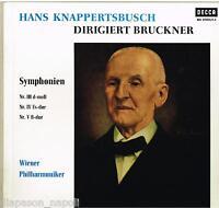 Bruckner: Sinfonie N.3 , 4 , 5 / Hans Knappertsbusch,Wiener - LP BLK-21020/1-4
