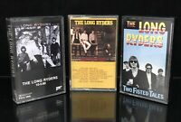 The Long Ryders Cassette Lot Of 3 Two Fisted Tales 10-5-60 Native Sons TESTED