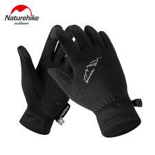 Naturehike Winter Outdoor Sports Touch Screen Gloves Men Full Finger GlovesBlack