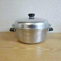 Vintage Wear Ever Dutch Oven No 824 Aluminum Stock Pot 4 Quart with Lid