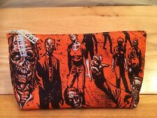 Zombie Handmade Make Up Bag / Art Case
