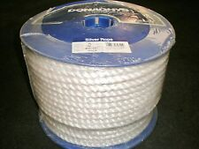 "100m x 14mm SILVER PE TRUCK OR BOAT ROPE. ""TOP QUALITY"""