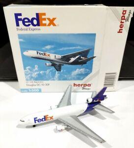 Herpa 500135 FedEx Express Douglas DC-10-30 F 1:500 scale N68049 model air plane