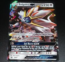 Solgaleo GX SM16 Sun & Moon Black Star Promo Holo Pokemon Card