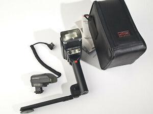 Metz 40MZ-3i Flash + G16 Power Grip + SCA 3000 Am + SCA 3701 M3 - working, exc++
