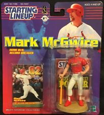 Mark McGwire St. Louis Cardinals Home Run Starting Lineup 4in. Figure New 1999