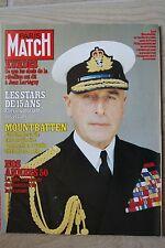 PARIS MATCH N°1580 (7/9/1979) Lord Mountbatten - Mireille Mathieu - Alain Clenet