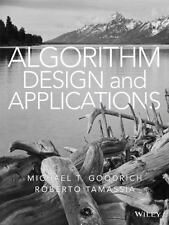 Algorithm Design and Applications by Roberto Tamassia and Michael T. Goodrich