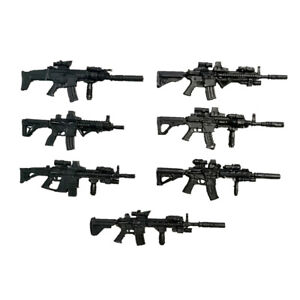 1/18 3.75inch  Weapon Accessories Seven Guns