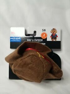 Cowboy Pet Dog or Cat Costume Hat Size XS Extra Small NEW and SO CUTE! COWGIRL