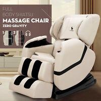 Deluxe Full Body Shiatsu Massage Chair ZERO GRAVITY Recliner with Heat Foot Rest