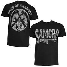 New: Officially Licensed With Tags SONS OF ANARCHY SAMCRO RIFLE LOGO ADULT MEN'S