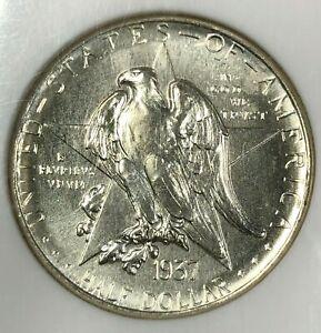1937-D NGC MS65 Silver TEXAS Commemorative RARE Half Dollar 50c ~ LOW MINTAGE
