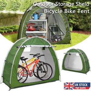 Upgrade Bike Storage Tent Bicycle Shed Shelter 210D Outdoor Cover Waterproof UK