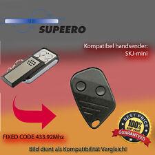 SUPEERO - SKJ mini,433.92 MHz Kompatibel Handsender, Ersatz sender(Fixed code)