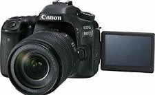 Open Box Canon EOS 80D DSLR Camera with 18-135mm Lens