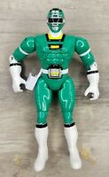 Power Rangers Turbo Green Ranger Shifter Action Figure Bandai 1997