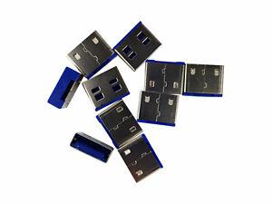 Smart Keeper DB010 USB-Port Schloss Data Blocker 10 Schlösser Code blau Keine