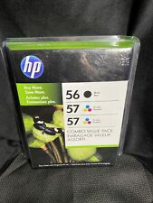Genuine HP 56 57 C8800BN Combo Pack Ink Cartridges NEW SEALED Exp 2011