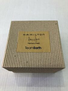 Hamilton Harrison Ford Team Earth watch box Storage Case LIMITED EDITION