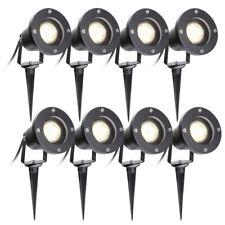 4W LED Lampe Gartenstrahler Set Spießstrahler Außenstrahler Mit Erdspieß IP65