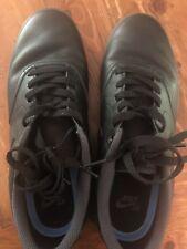 Men's Black Leather Nike Shoes