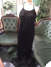 Missguided Floor Length Sequin Dress New +Tags