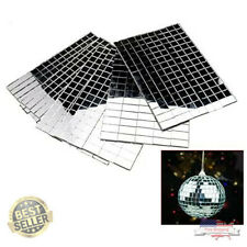 New ListingSelf-Adhesive Real Glass Craft Mini Square & Round Mirrors Mosaic Tiles New
