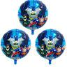 3x Folienballon Batman Heliumballon Luftballon Kindergeburtstag