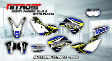 HUSABERG Graphics Kit Decals Design Stickers FE 390 450 570 2009 2010 2011 2012