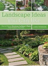 Landscape Ideas You Can Use: How to Choose Structures, Surfaces & Plants That Tr
