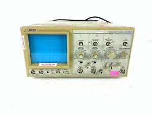 Leader LS1020 Oscilloscope, 20 MHz, 2-Channel