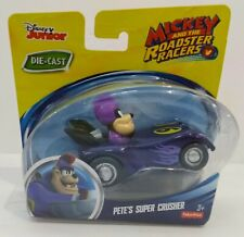 DISNEY'S-MICKEY AND THE ROADSTER RACERS-PETE'S SUPER CRUSHER- NEW DIE CAST