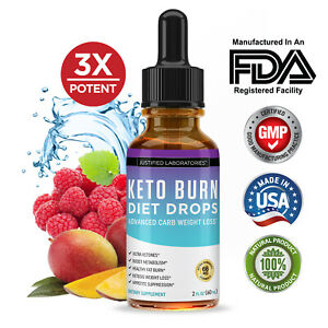 Keto Drops Diet Shred Burn Ketosis Weight Loss Supplement Fat Burn Carb Blocker