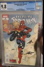 Avenging Spider-Man#9 cgc 9.8(1st app.of Carol Danvers as Ms Marvel)🔥🔥🔥🔥🔥🔥